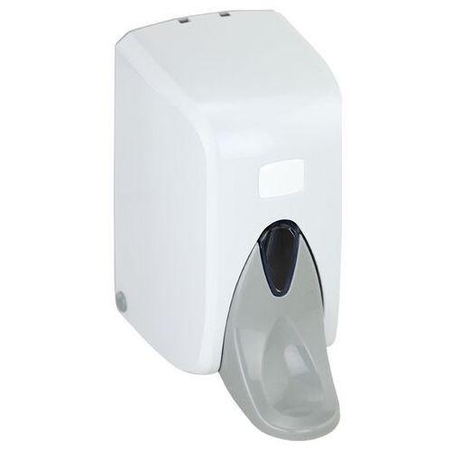 Linea Dozownik łokciowy mydła 0.5 l dozownik płynów dezynfekcyjnych