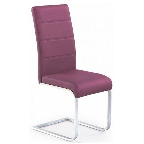 Profeos.eu Tapicerowane krzesło nivor - fioletowe