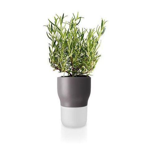 Doniczka samopodlewająca, Nordic Grey, 11 cm - Eva Solo (5706631162968)