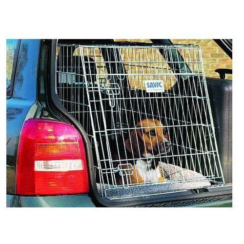 Klatka transportowa Savic Dog Residence Mobile z poduszką - L: dł. x szer. x wys.: 91 x 61 x 71 cm (5411388032975)
