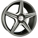 Xtra wheels sw6 gunmetall voll poliert einteilig 8.50 x 18 et 30