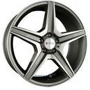 Xtra wheels sw6 gunmetall voll poliert einteilig 8.50 x 18 et 45