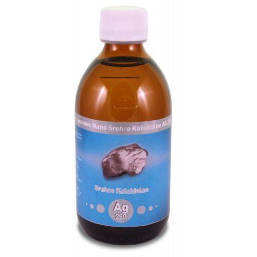 Niejonowe Nano Srebro koloidalne 25 ppm 300 ml Vitacolloids