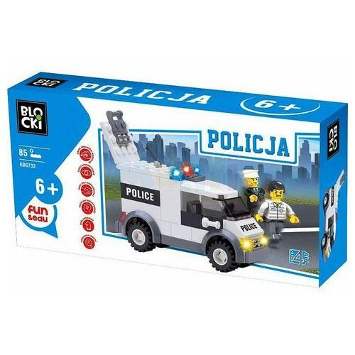Klocki Blocki Policja 85 elementów