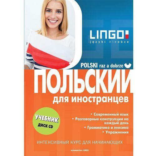 Polski raz a dobrze - Wersja rosyjska + CD, oprawa broszurowa