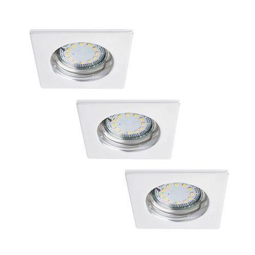 Rabalux Oczko lampa sufitowa oprawa wpuszczana lite 3x50w gu10 biały 1052 (5998250310527)