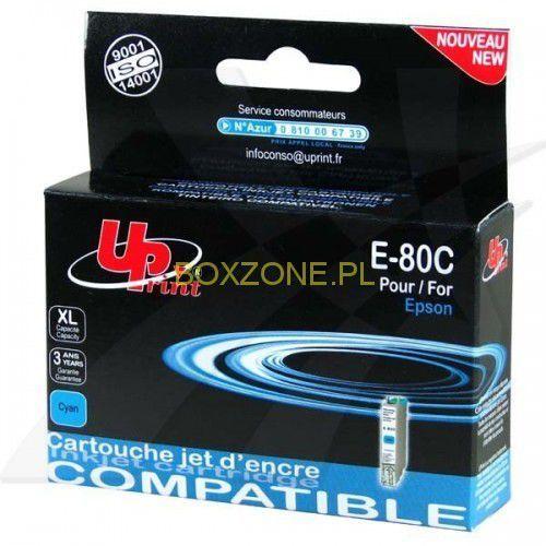 UPrint kompatybilny ink z C13T08024011, cyan, 11ml, E-80C, dla Epson R265, RX560, R360