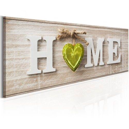 Obraz - home: green marki Artgeist
