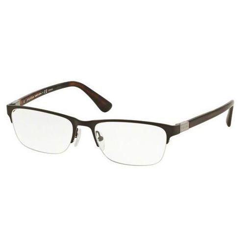 Okulary korekcyjne pr52sv 1ah1o1 marki Prada