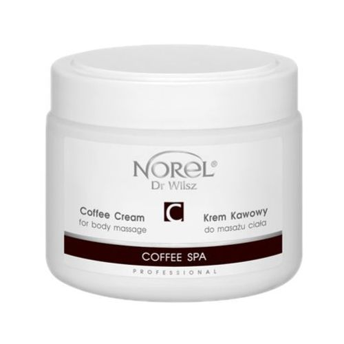 Norel (Dr Wilsz) COFFEE SPA COFFEE CREAM FOR BODY MASSAGE Krem kawowy do masażu ciała (PB307) – produkt dostępny w MadRic.pl