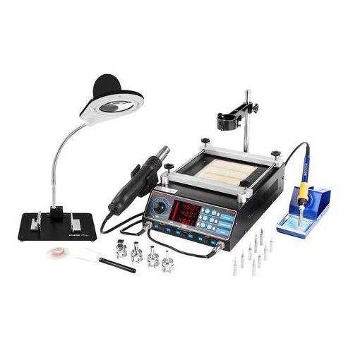 Stacja lutownicza - 75 w - 2 x kolba - podgrzewacz - led marki Stamos soldering
