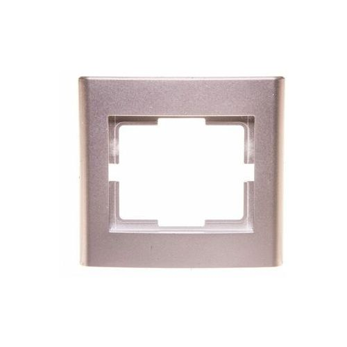 Elektro Plast Catrin - Ramka 1x srebrna - 2171-06, kolor srebrny