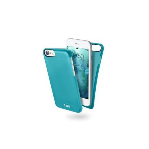 SBS Color feel cover light blue color for iPhone 7, kolor niebieski