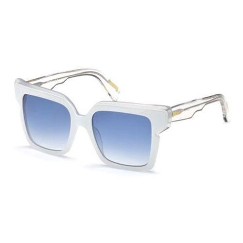Okulary Słoneczne Just Cavalli JC 823S 24W, kolor żółty