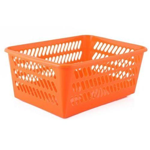 Pucuś Kosz plastikowy 36 x 25 x 14 cm pomarańczowy