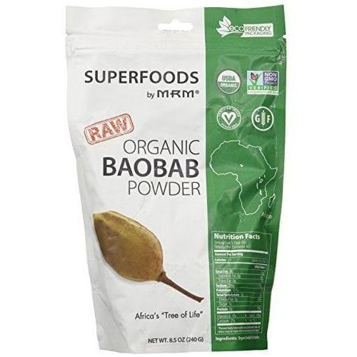 organic baobab fruit powder 240g marki Mrm