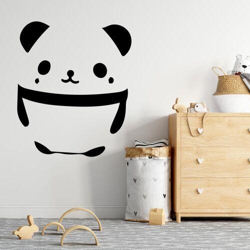 Wally - piękno dekoracji Naklejka na ścianę dla dzieci panda 2520