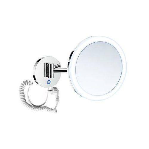 Stella lusterko kosmetyczne powiększające x5 podświetlane LED włącznik sensorowy,podwójne ruchome ramię 22.00451