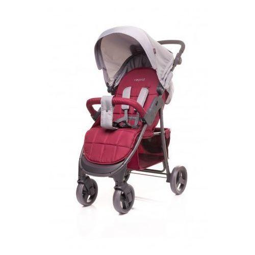 4baby  rapid wózek spacerowy spacerówka model 2017 dark red