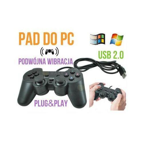 Pad/Kontroler Przewodowy USB, do Komputera PC + Wibracje itd., 59077734155125