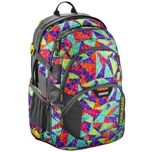 """jobjobber ii plecak szkolny 45 cm / laptop 15,4"""" / spiky pyramids - wielokolorowy marki Coocazoo"""