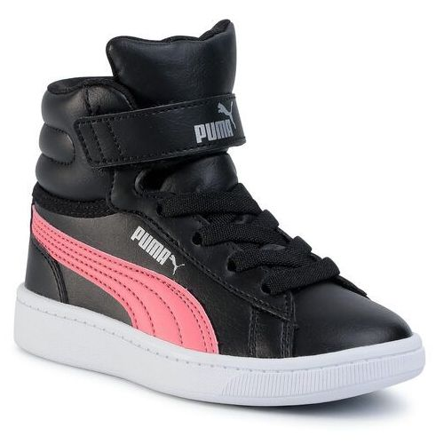 Sneakersy - vikky v2 mid sl v ps 370620 01 black-c/coral/silver/white marki Puma