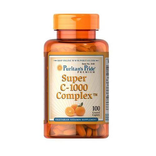 Witamina Super C-1000 Complex 100 tabletek Puritan's Pride - sprawdź w wybranym sklepie