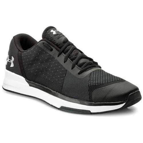 Under armour Buty - ua showstopper 1295774-001 blk/wht/msv