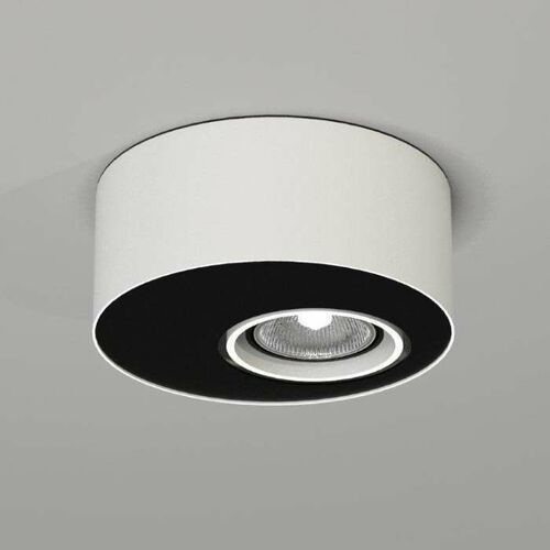 Toki Sufitowa Shilo 7027, kolor biały;czarny
