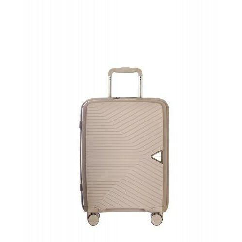 PUCCINI walizka mała/ kabinowa twarda z kolekcji DENVER PP014 4 koła zamek szyfrowy TSA materiał polipropylen, PP014C