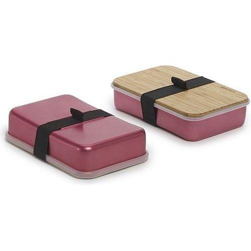 Pudełko na kanapki Sandwich On Board różowe, sb003