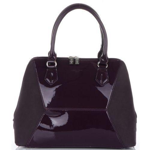 dda8be547167b eleganckie torebki damskie kuferki śliwkowe (kolory) marki David jones