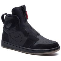 Buty - air jordan 1 high zip ar4833 002 black/university/red/black marki Nike