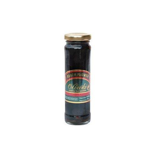 Vog Oliwki czarne bez pestek w zalewie sterylizowane beach flower 140 g (5902451032638)