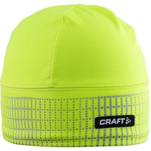brilliant 2.0 nakrycie głowy żółty s/m 2017 czapki do biegania marki Craft