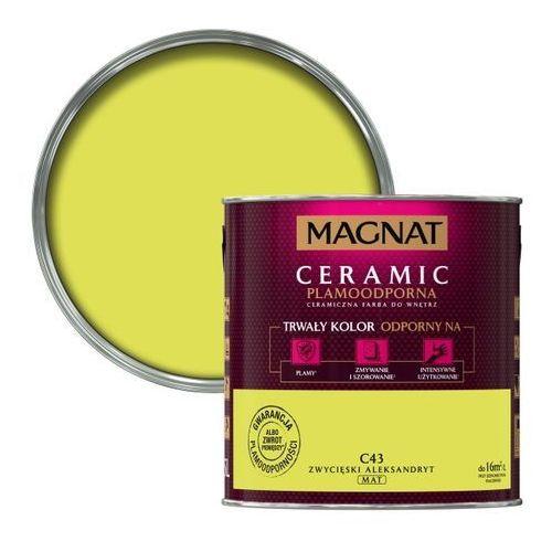 Farba Magnat Ceramic zwycięski aleksandryt 2,5 l
