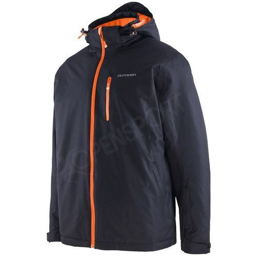 Męska kurtka narciarska toz15 kumn604 czarna m marki Outhorn