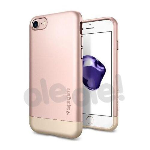 Spigen Style Armor 042CS20517 iPhone 7 (różowy), kolor różowy