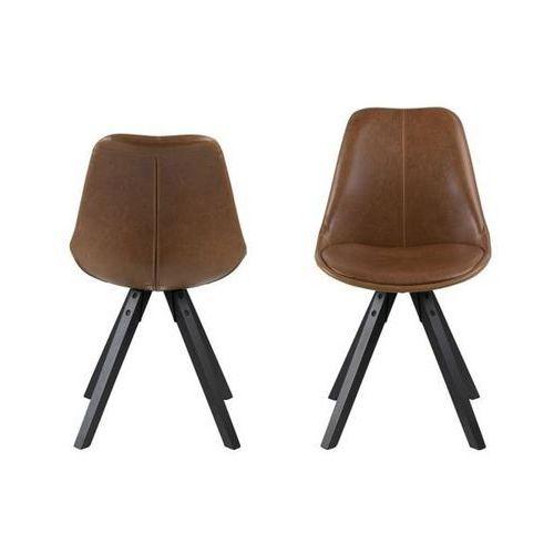 Actona Krzesło dima bradny/black pu (5705994975017)