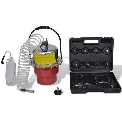 vidaXL Zestaw do wymiany i odpowietrzania płynu hamulcowego (8718475884064)