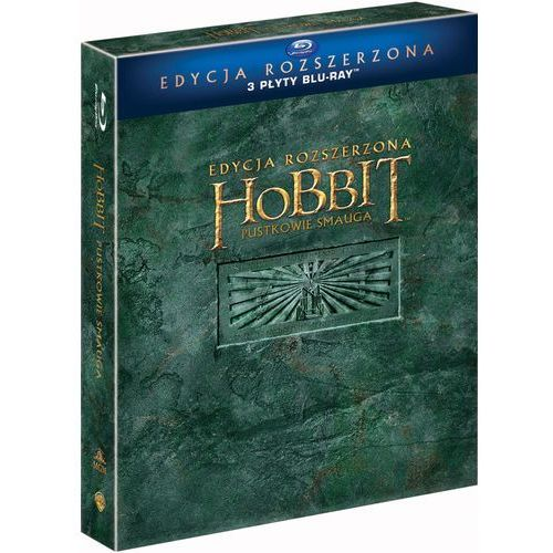 Hobbit: Pustkowie Smauga. Edycja specjalna (3BD)
