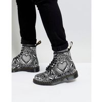 playing card printed 8 eye boots 1460 - black marki Dr martens