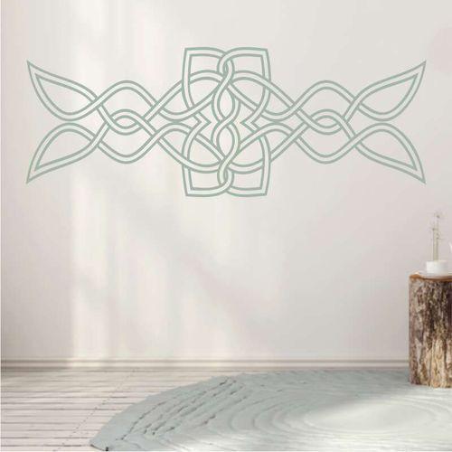 Wally - piękno dekoracji Szablon na ścianę wzór celtycki 2201