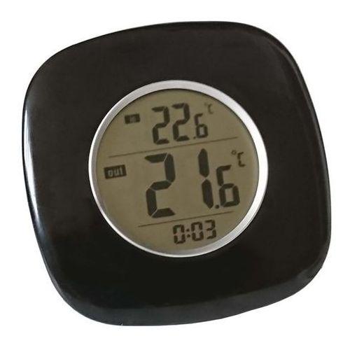 Terdens Termometr elektroniczny drop z zegarem