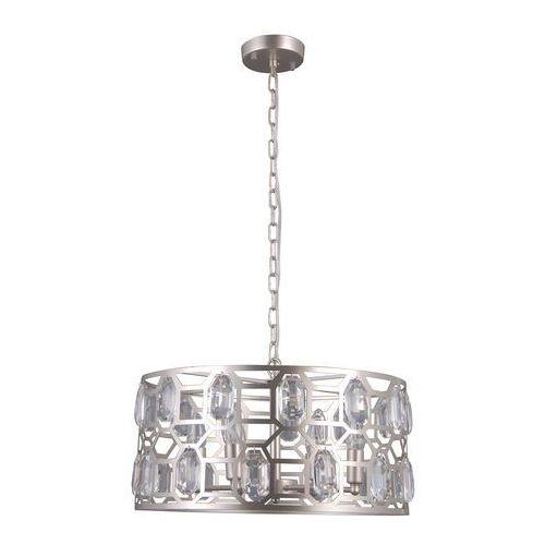 Italux Momento PND-43400-6 L Lampa wisząca zwis oprawa 6x40W E14 srebrny szampański (5902854530878)