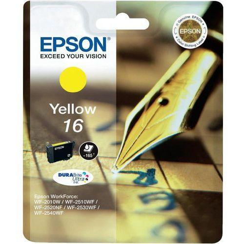 Epson oryginalny ink C13T16244012, T162440, yellow, 3.1ml, Epson WorkForce WF-2540WF, WF-2530WF, WF-2520NF, WF-2010 (8715946624945)