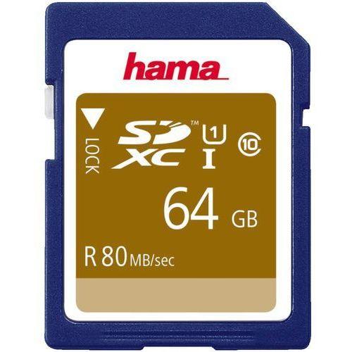 Hama Karta Pamieci Sdxc 64gb Uhs I 80mb S Class 10 4047443300348