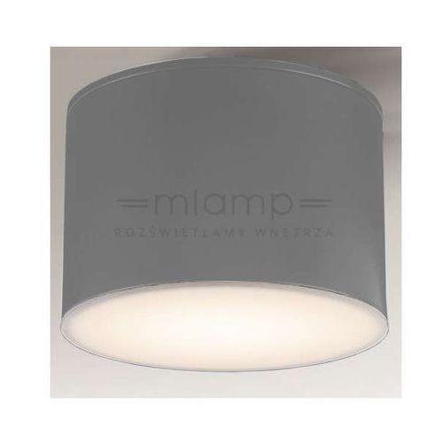 Shilo Plafon lampa sufitowa suwa 8001/gx53/sz łazienkowa oprawa natynkowa ip44 szara