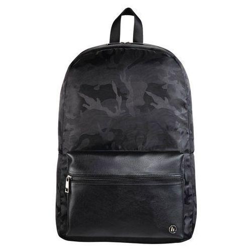 Plecak do laptopa mission camo 15,6 cala czarny metaliczny 101599 marki Hama