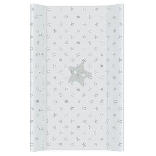 przewijak na łóżeczko usztywniony 50x70 gwiazdki szare marki Mamo-tato